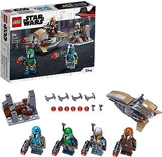 LEGO 75267 Star Wars Mandalorian Battle Pack Set with 4 Minifigures, Speeder Bike and Mini-fort