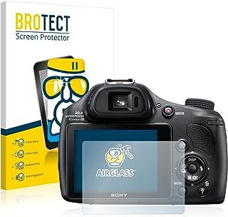 BROTECT Protector Pantalla Cristal Compatible con Sony Cyber-Shot DSC-HX400V Protector Pantalla Vidrio Dureza 9H AirGlass
