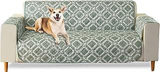 comprar comparacion PETCUTE Sofa Fundas Impermeable Cubre Sofas 3 plazas Funda de sofá Impermeable para Perros Gatos Mascotas Verde