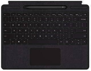 マイクロソフト Surface Pro X Signature キーボード スリム ペン付き 英字配列/ブラック QSW-00021