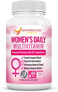 Sponsored Ad - Multivitamin for Women with Green Tea for Weight Loss Support - Made with Whole Food Fruit Extracts for Ene...