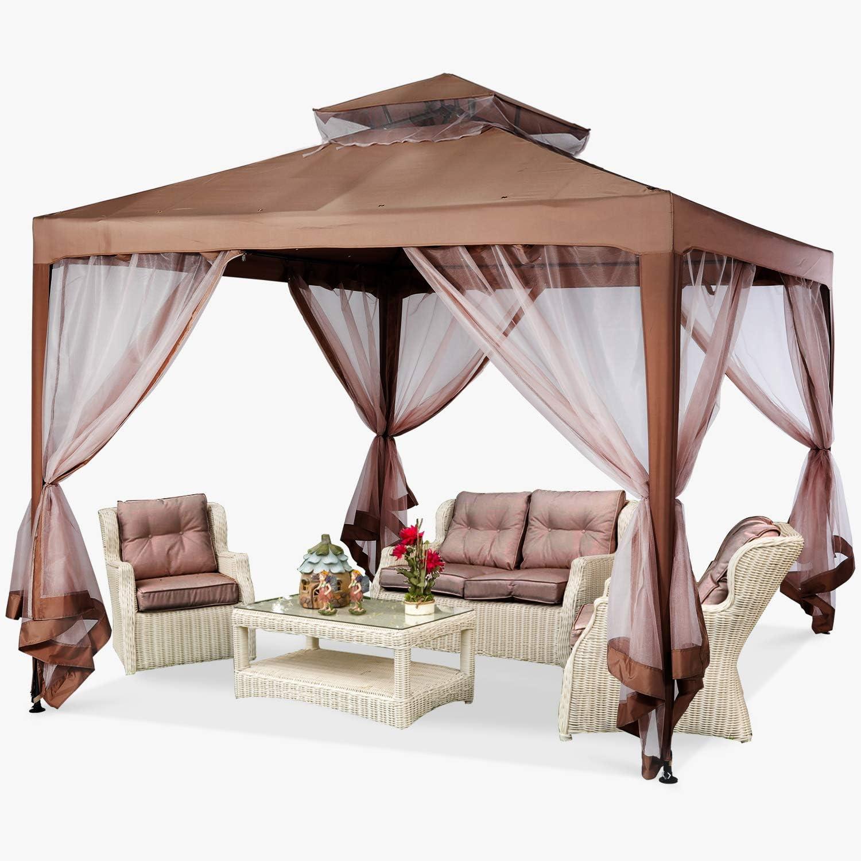 MASTERCANOPY Patio Gazebo 人気の製品 10'x10' 新品未使用正規品 Pop-Up wit Instant Tent