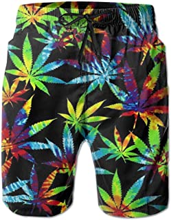 N \ A 3D Graphic Print Mens Swim Trunks Printed Beach Shorts Quick Dry Summer Boardshorts with Mesh Lining