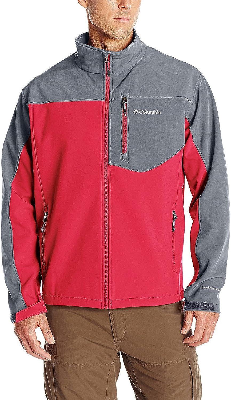 Columbia Men's Big Prime Peak Softshell Jacket