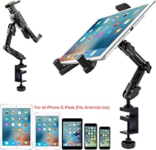 ChargerCity Heavy Duty Aluminum Alloy Pole/Bar Mic Microphone cymbal Stand Tablet Smartphone Holder Clamp Mount for Apple ...
