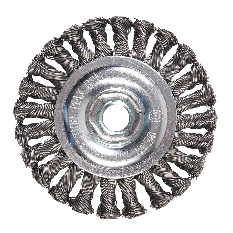 Mercer Industries 186510B Knot Wire Wheel, 4