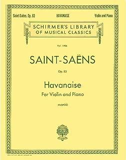 Best havanaise saint saens sheet music Reviews
