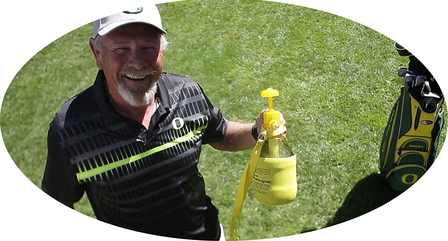 Personal Pump Mister /& Sprayer with Pressure Relief Handle and Neoprene Sleeve PB Misters Ultra Mister Chill