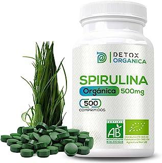 Espirulina Ecologica Comprimidos Orgánica - 500 x 500 mg |