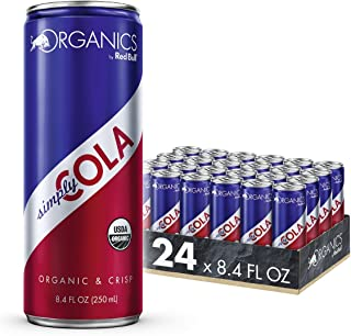 Organics by Red Bull Simply Cola 24 Pack of 8.4 Fl Oz, Organic Soda Drink