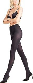 FALKE Strumpfhose Cotton Touch Baumwolle Damen schwarz blau viele weitere Farben verstärkte Damenstrumpfhose ohne Muster blickdicht Baumwollstrumpfhose einfarbig fein 1 Stück