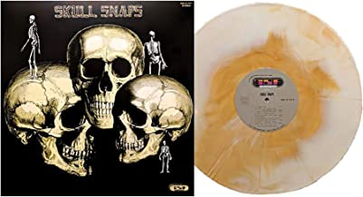Skull Snaps - Exclusive Club Edition White And Orange Marble Colored Numbered Vinyl LP
