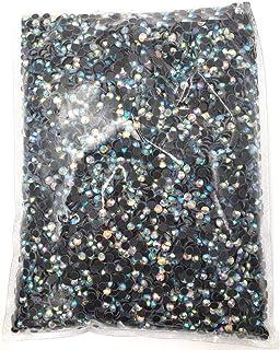 BrillaBenny 500 BRILLANTINI STRASS 3MM TERMOADESIVI HOTFIX SS10 AURORA BOREALE AB Crystal Rhinestone Stone Bead