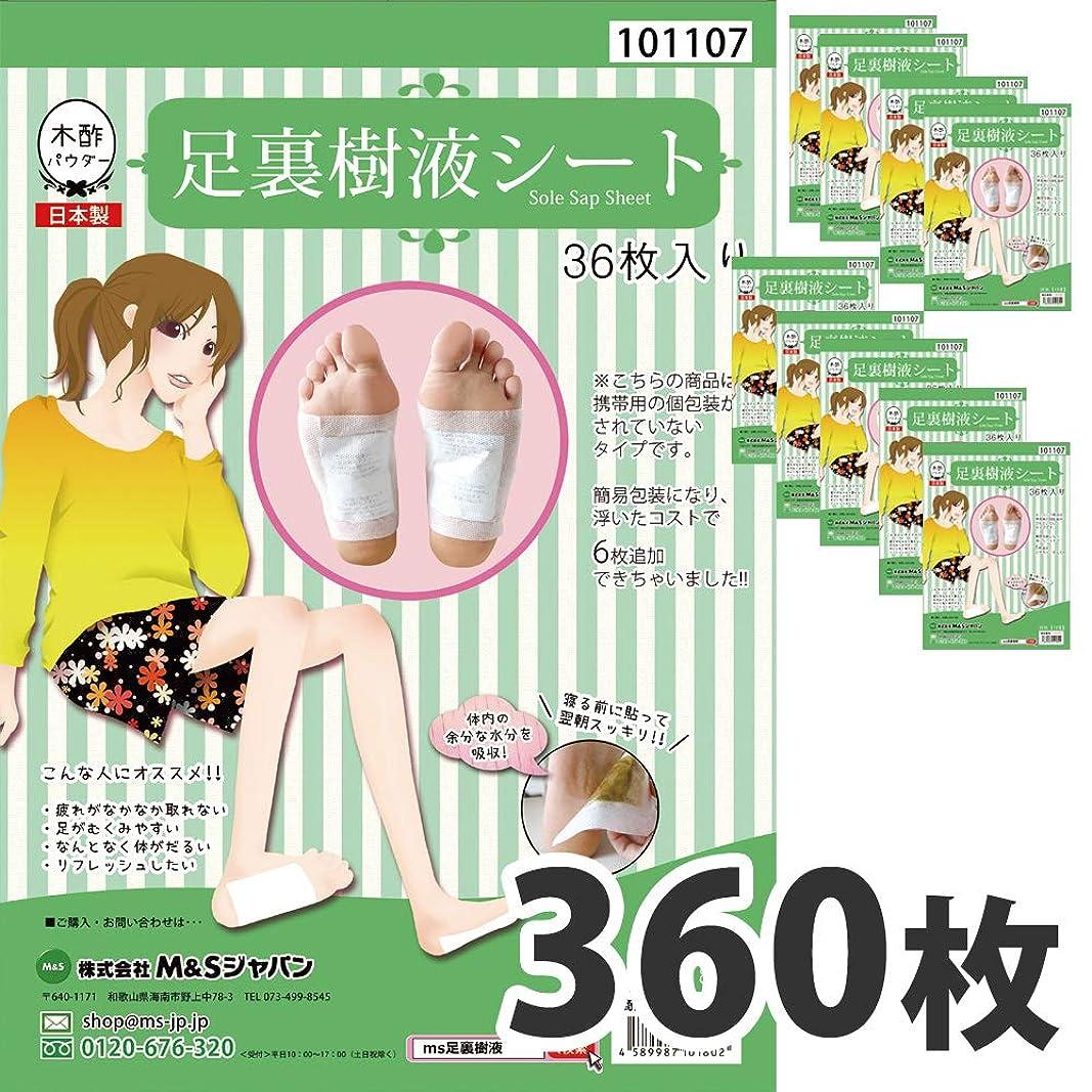 テスピアンソケットテセウス日本製 足裏樹液シート 足裏シート お得 人気 樹液シート 足裏 (360枚入り)