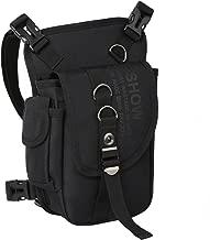 Eshow Men's Drop Leg Pouch Tools Bags Tactical Leg Bag Fanny Pack Thigh Bags Bike Cycling Hip Bag Canvas