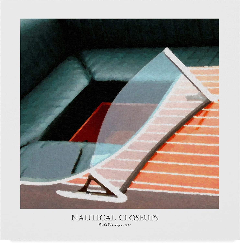 Trademark Fine Art Nautical Close-Ups 2 by Carlos Casamayor, 14x14 Fine Art, Multicolor
