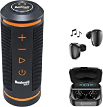$169 » Wearable4U Bushnell Wingman GPS Bluetooth Speaker with Included Ultimate Earbuds with Charging Power Bank Case Bundle