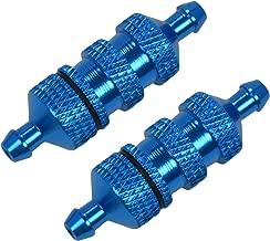 Apex RC Products Blue Aluminum Nitro Fuel Filter - 2 PACK #8054