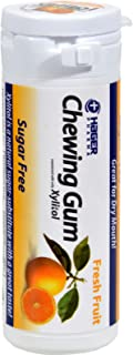 Xylitol Chewing Gum by Miradent, Fresh Fruit - 30 Piece, 6 Pack