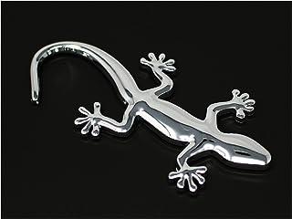 3D Emblem Gecko mit Schaumstoff Kleberückseite von VmG Store (Chrom)
