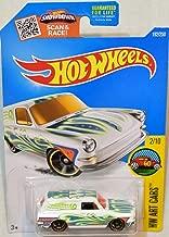 Hot Wheels 2016 H.W. Art Cars Custom '69 Volkswagen Squareback Kmart Exclusive Recolor White 192/250