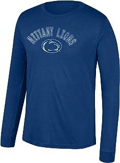 The Blue Brand NCAA Mens Long Sleeve T Shirt Team Color Football
