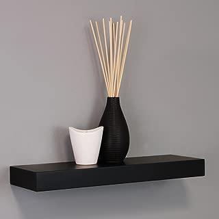 kieragrace Modern Floating-Shelves, 16-Inch, Black