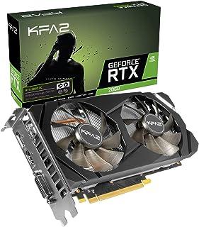 KFA2 26NRL7HPX7OK - Tarjeta gráfica (GeForce RTX 2060, 6 GB, GDDR6, 192 bit, 7680 x 4320 Pixeles, PCI Express x16 3.0)