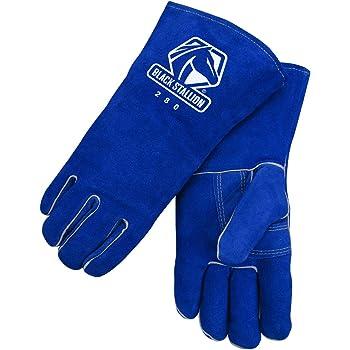 Black Stallion 320 CushionCore Split Cowhide Stick Welding Gloves 3X-Large