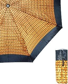 Household Large Umbrellas Rain and Rain Umbrellas Ultralight Portable Folding Umbrellas Windproof and Splashproof Umbrellas WXFO (Color : Yellow)