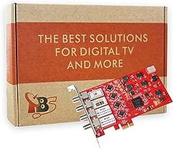 TBS DVB-S2 / S Quad Tuner PCIe Card for Satellite Live TV