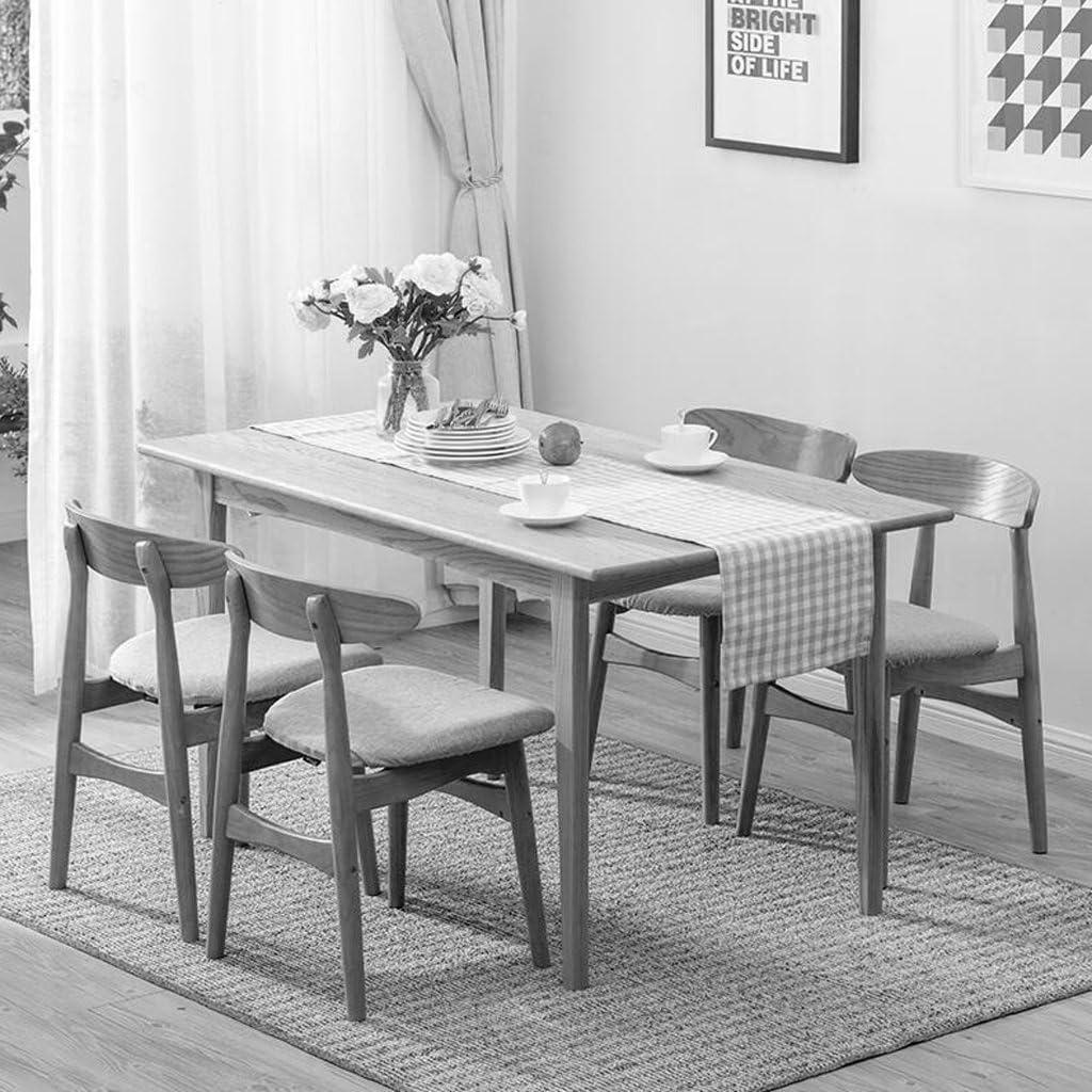 Les meubles Chaise en bois solide préside la chaise créative de dossier de chaise de barre chaise moderne de café (Color : G) G