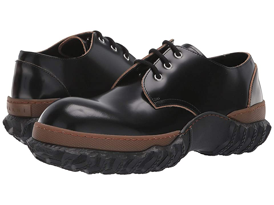 MARNI Double Sole Oxford (Black) Men