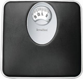 Terraillon T61 Equateur - Báscula de baño, 120 kg, 1 kg, color negro