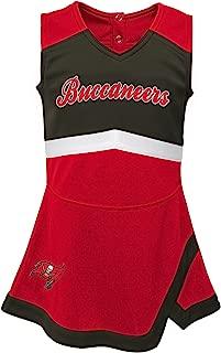 NFL Girls Kids & Youth Girls Cheer Captain Jumper Dress