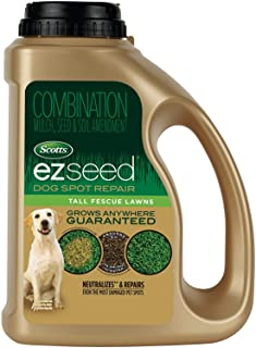 Scotts EZ Seed Dog Spot Repair Tall Fescue Lawns - 2 lb., Combination Mulch, Seed and Soil Amendment Includes Protectant a...