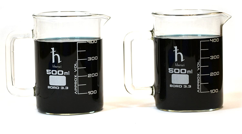 Great interest Premium Hand Crafted Beaker Borosilicat Mugs Laboratory Quality Dallas Mall