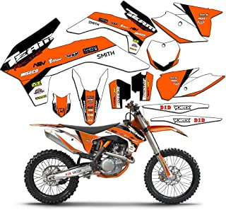 Team Racing Graphics kit compatible with KTM 2016-2017 SXF, EVOLV