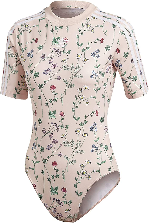 Adidas Women's Originals Bodysuit DN9104 bluesh Pink