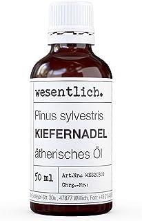 wesentlich. Kiefernadelöl - ätherisches Öl - 100% naturrein Glasflasche - u.a. für Duftlampe und Diffuser 50ml