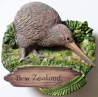 Kiwi NEW ZEALAND Resin 3D fridge Refrigerator Thai Magnet Hand Made Craft. by Thai MCnets