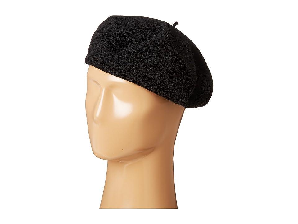1960s – 70s Style Men's Hats SCALA Wool Basque Beret Black Caps $87.50 AT vintagedancer.com