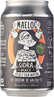 Maeloc Sidra Dulce Ecológica Lata - 24 latas x 330 ml