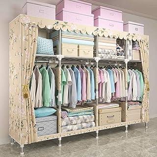 Armoire de rangement pour armoire à vêtements portative à la maison Armoire de rangement pour organisateur de placard avec...