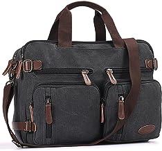 Laptop Briefcase,15.6 Inch Messenger Bag Hybrid Pack Computer Case Laptop Shoulder Bag Durable Tablet Sleeve for Men,Women...