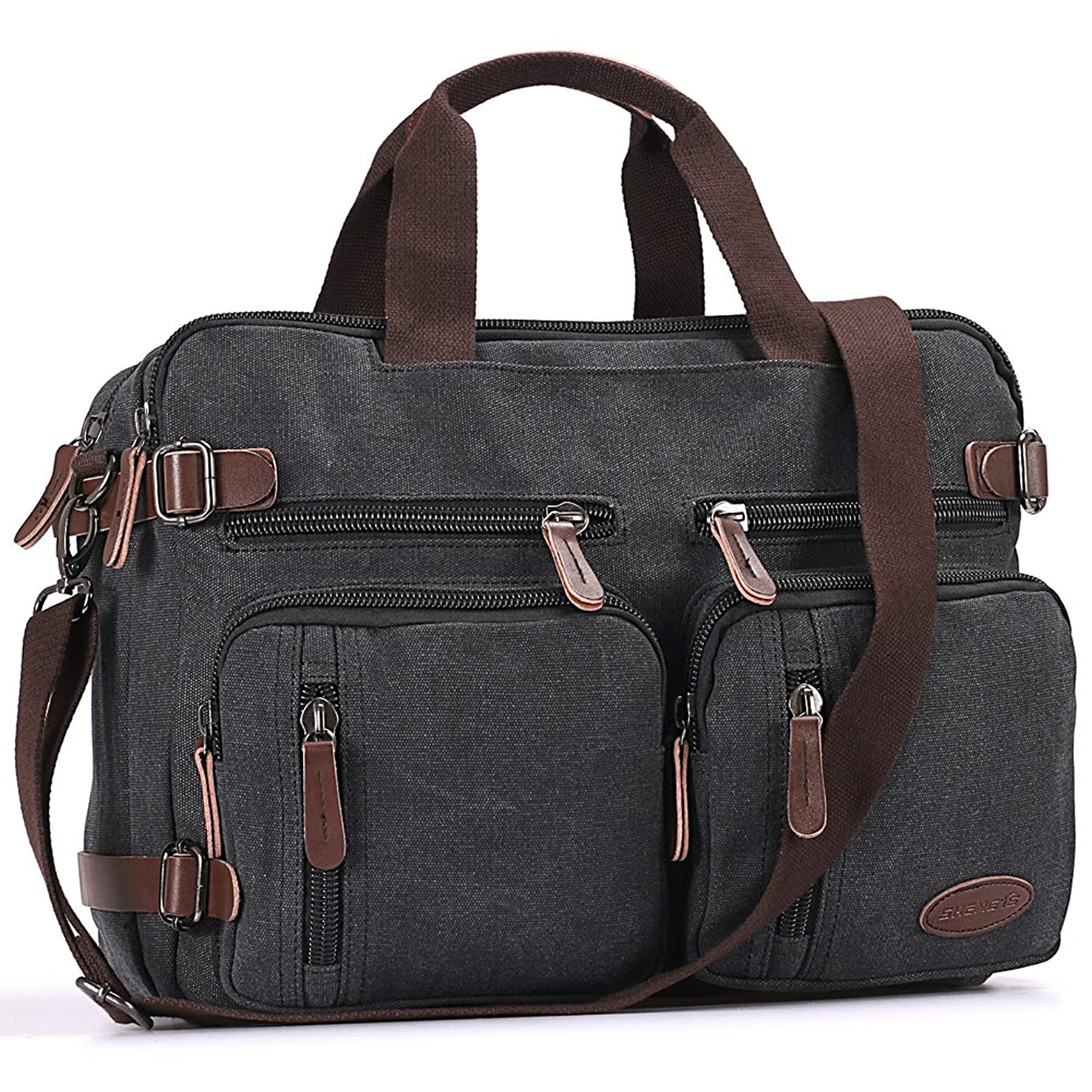 Laptop Backpack,Multifunction Briefcase Messenger Bag 15.6 Inch Laptop Bag for Men,Women