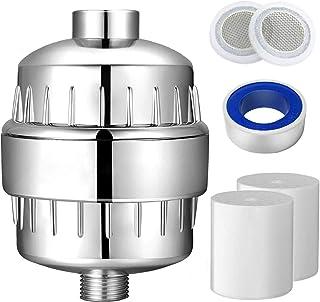 Hoch Output 15-Stufen Duschfilter enthaltet 2 Patrone für hartes Wasser-Chlor &..