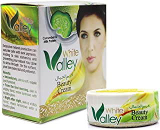 White Valley Beauty Cream with Cucumber and Milk Protein 16 grams