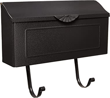Gibraltar Mailboxes MB676ABK Amboy Decorative Mailbox, Small, Black