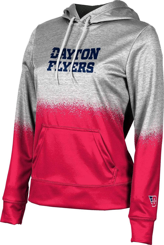 ProSphere University of Dayton Girls' Pullover Hoodie, School Spirit Sweatshirt (Spray Over)